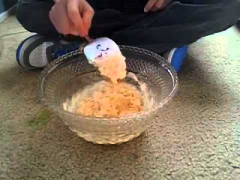 How to make bluegill bait youtube for Homemade fish bait