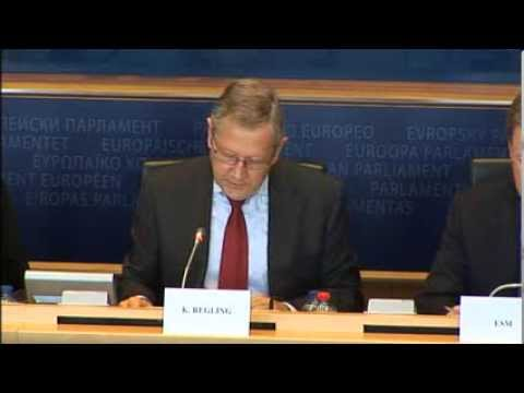 European Parliament Committee on Economic and Monetary Affairs - Klaus Regling, 24 September 2013