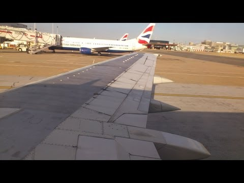British Airways | B737-400| LGW - AMS (full flight) | 2 August 2013 | G-DOCV
