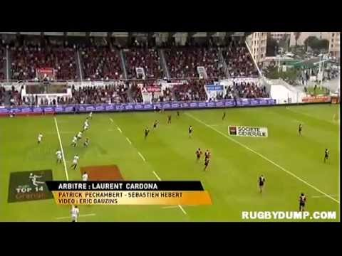 Tries in France 2011 2012 day 25 Toulon - Toulouse