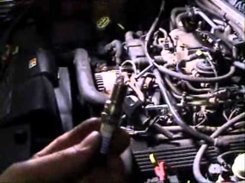 ford explorer spark plug changing location removal