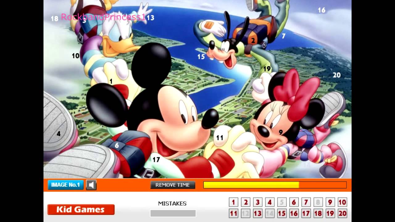 Play Mickey Mouse Racing Game Games Online