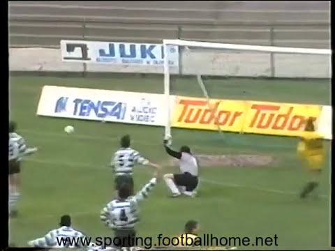 27J :: Fafe - 0 x Sporting - 1 de 1988/1989