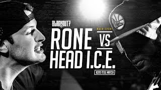 KOTD - Rap Battle -  Rone vs Head I.C.E. (Title Match) | #BO7