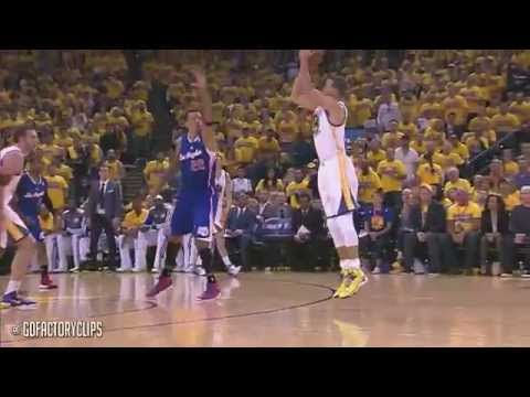 Stephen Curry 17 Points 1st QTR vs Clippers - 2014 Playoffs West R1G4