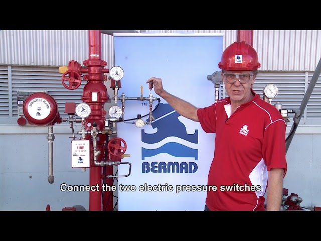 How to install Bermad Pre-Action Valve