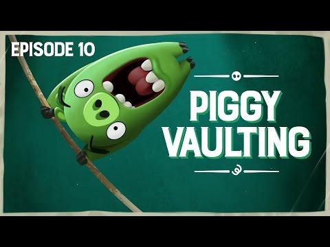 Piggy Tales: Skok o tyči