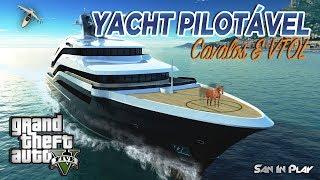 GTA Online: Yacht Pilotável, Cavalos E VTOL GTA V DLC