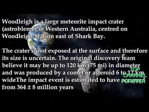 Top 10 Biggest Asteroid Impact On Earth Ever'2014