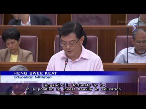 Heng Swee Keat: Funding for schools is decided on a 'needs basis' - 17Feb2014