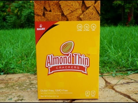 Almond Thin Crackers™ Low Carb & Gluten Free