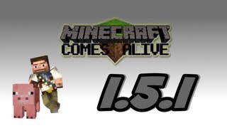 ★ How To Install MINECRAFT COMES ALIVE For Minecraft 1.5