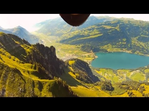 GoPro HD: Jeb Corliss and Roberta Mancino - Wingsuit Flyers