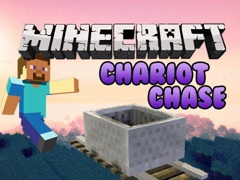 Minecraft: Chariot Chase Mini Game Pt. 2 w/ Chim, Husky, Gizzy, & Cupquake