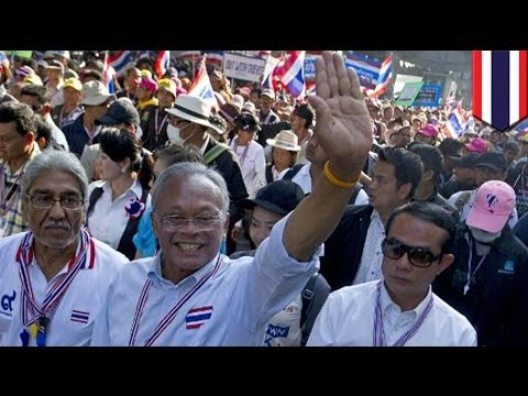 Thailand blast: 36 anti-government protesters injured