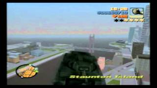 Grand Theft Auto 3 Flying Tank Cheat