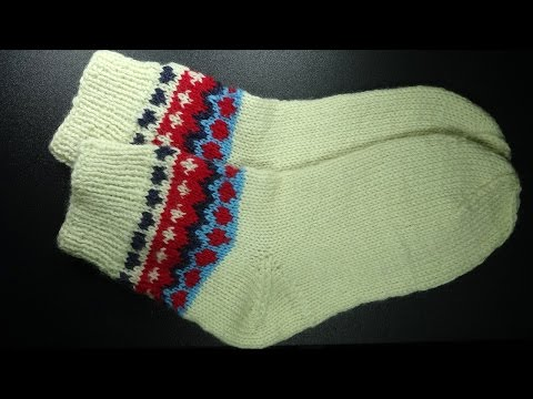 Как вязать вечные носки -  How to knit timeless socks