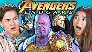 Teens React To Avengers: Endgame Trailer & Easter Eggs
