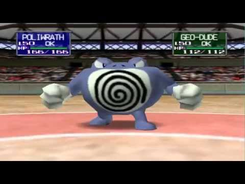 Pokemon Stadium Wifi Battle #1