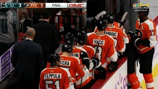 Philadelphia Flyers booed off the ice as losing streak reaches 9 games
