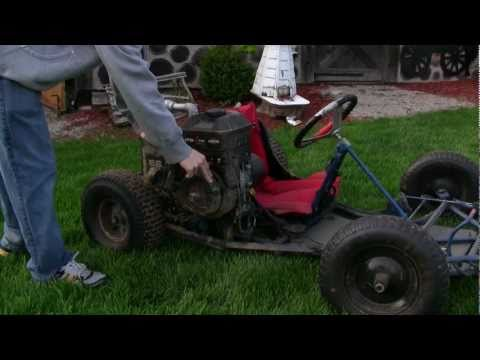 Home Made Go Kart Cold Start (1080P HD)