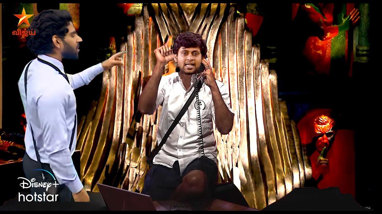 Biggboss Tamil 4   Day 51   24th November 2020 Promo Review   Sanam Vs Samyugtha Call center  
