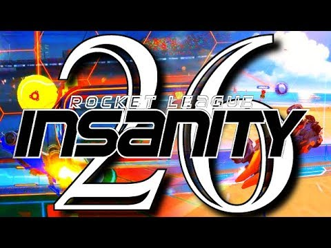 ROCKET LEAGUE INSANITY 26 ! (BEST GOALS, REDIRECTS, RESETS, DRIBBLES)