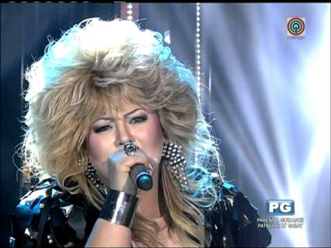 Karla takes on Bonnie Tyler on 'Your Face'