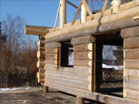 Dom z bali, Dom z drewna, Log home, Log cabin, Wooden house, Holzhaus