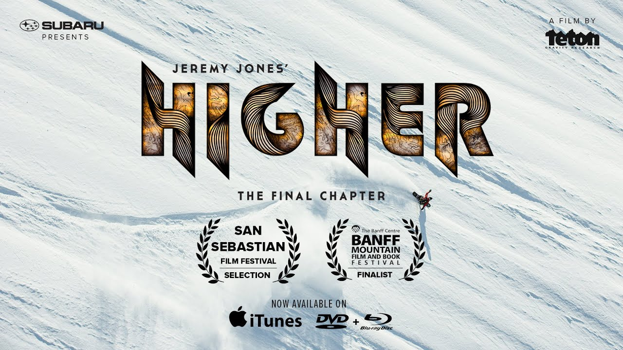 Video: Jeremy Jones' Higher by Teton (Teaser 2)