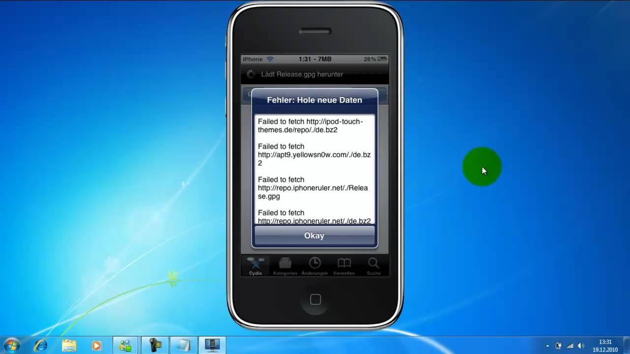 iphone 4 auf pc anzeigen ohne jailbreak