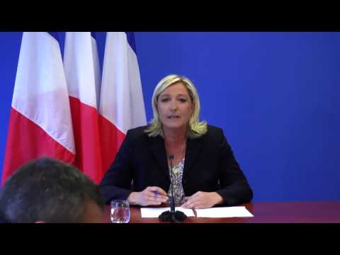 Point presse de Marine Le Pen - 25 juin 2014