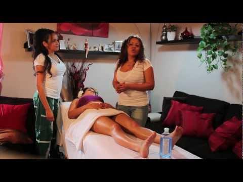 Masaje para piernas cansadas (massage for tired legs)