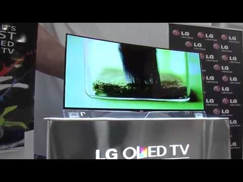 LG S.Africa unveils world's first curved television