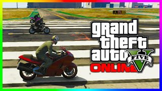 GTA 5 NEW FASTEST BIKE IN THE GAME? Shitzu Hakuchou Vs