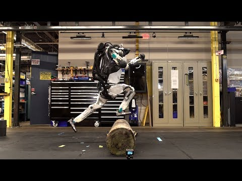 (robot) Parkour!