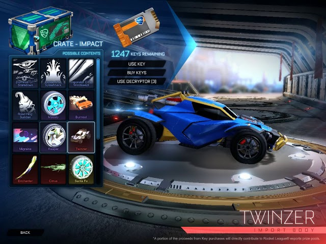 Where To Buy Rocket League Impact Crates All New Items For Ps4