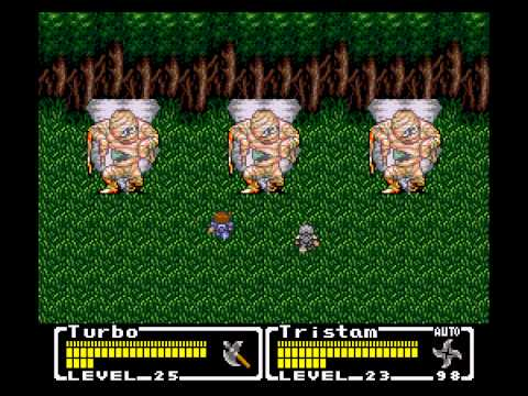 Final Fantasy - Mystic Quest - Final Fantasy - Mystic Quest Part 4  - The Forest - User video