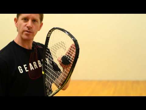 Four Types of Racquetball Lob Serves: Part 4 - The Lob Z-Serve