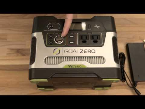 Goal Zero Yeti 400 Power Pack Generator