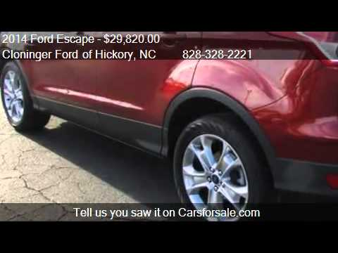2014 Ford Escape Titanium - for sale in Hickory, NC 28602