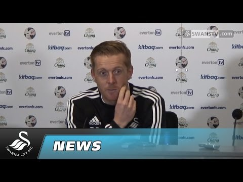 Swansea City Video:Garry Monk's FA Cup Everton reaction
