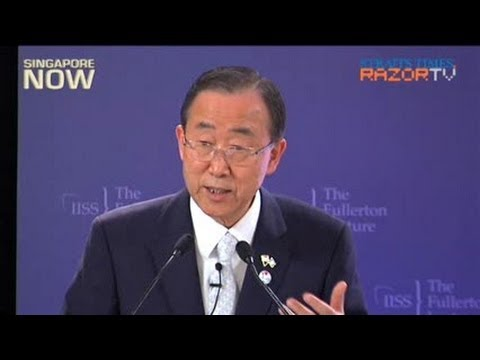 Youth have a right to challenge authority: Ban Ki-moon