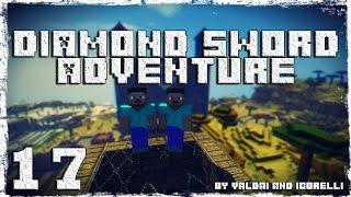 [Coop] Minecraft Diamond Sword Adventure. #17: Босс Ледяного дворца.