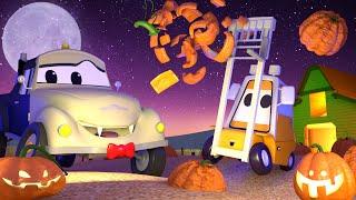 Especial HALLOWEEN ! Las CALABAZAS - El lavado de Autos de Tom La Grúa 🛀 Dibujos animados
