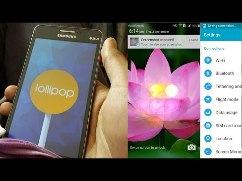 Install Lollipop Update on Galaxy Grand Prime G530