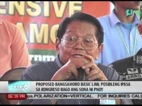 Proposed Bangsamoro Basic Law, posibleng ipasa sa kongreso bago ang SONA ni PNoy