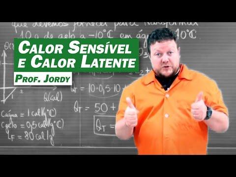 Física - Calor Sensível e Calor Latente