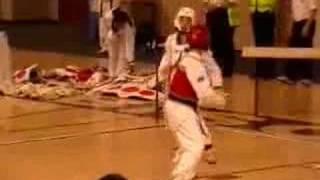 Karate Kick Headshot BANG Foot To Face