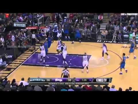 1st HALF HIGHLIGHTS   Dallas Mavericks vs Sacramento Kings   December 9, 2013   NBA 2013 14 Season